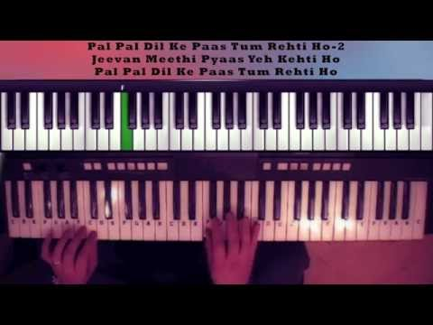 pal pal dil ke paas-Blackmail-on keyboard