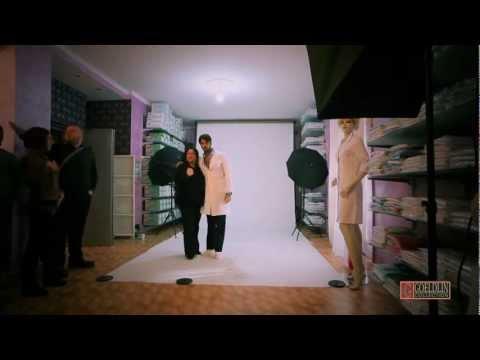 """Fabrizio Corona per Goeldlin Collection abiti da lavoro """"Backstage 2013″"""