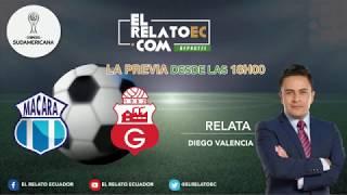 EN VIVO | FORMATO RADIO: Barcelona SC vs Defensor Sporting / Macará vs Guabirá