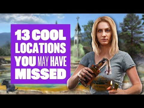 Far Cry 5 - 13 cool locations you may have missed