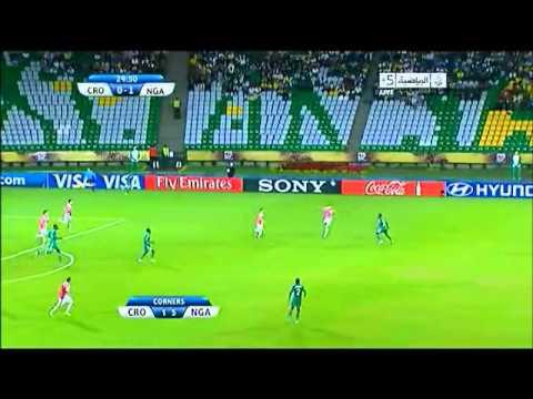 Nigeria 5 - Croatia 2 - WOLRD CUP U20 COLOMBIA 2011 - EURODATA SPORT