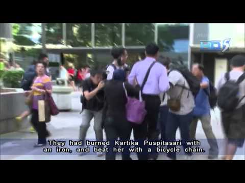Hong Kong Couple Jailed For 'inhumane' Abuse Of Indonesian Maid - 19sep2013 video