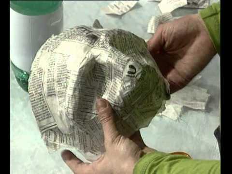 laboratorio incantato a cura di roberto gandini III° puntata loredana spadoni fa le maschere