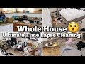 Time Lapse Cleaning | Actual Messy House | Cleaning Motivation | Clean With me | real life Cleaning