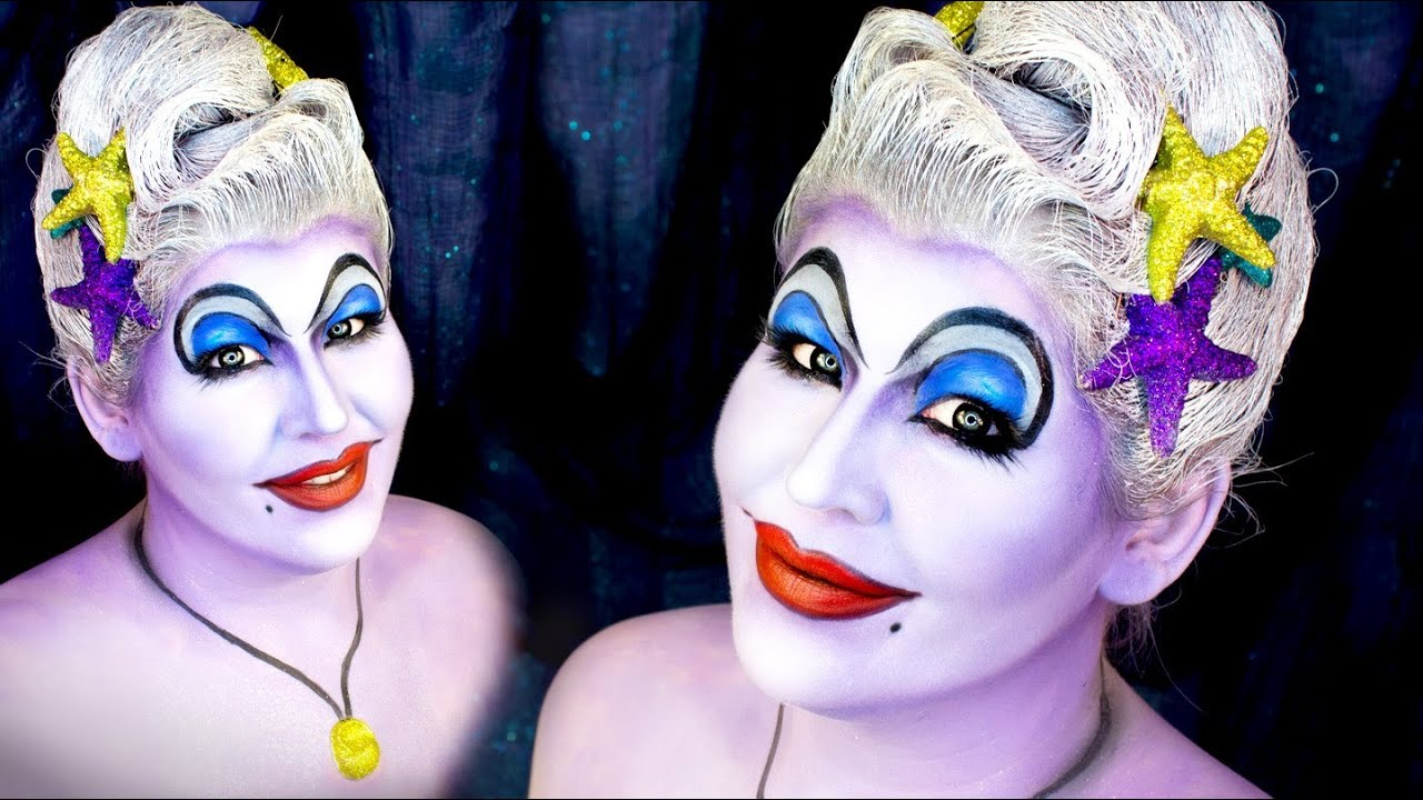 Makeup halloween witch
