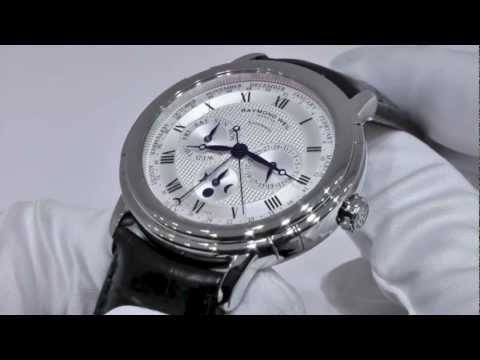 RAYMOND WEIL Maestro Phase de Lune Semainier Watch Review