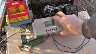 Альтернативная энергия. Тест и испытание солнечной батареи на 60 ВТ.