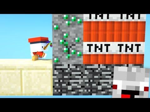 Diese Falle tötet jeden Minecraft Spieler😂👌💯... Minecraft LUCKY BLOCK BATTLE BEDWARS