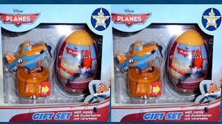 3D VIDEO: Planes Gift Set with Candy Unboxing Surprise Eggs & Toys