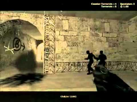 "Counter Strike 1.6 - Fun Movie Starring ""Leopard"" & ""Gh@j!n!"" [Abuses]"