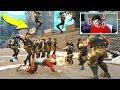 DEFAULT SKIN ARMY vs TILTED TOWERS in Fortnite Battle Royale!