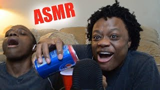 Trying ASMR For The First Time (FUNNY AF)