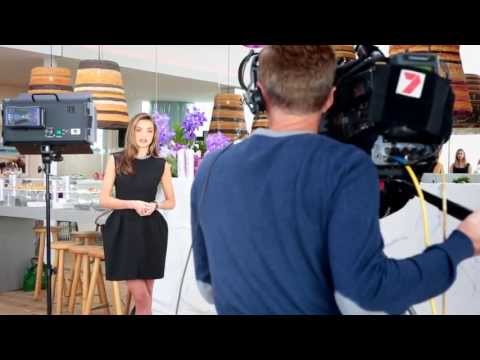 Miranda Kerr at Bondi Pavillion Launch of Clear Hair & Scalp Therapy