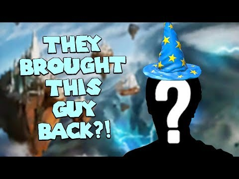 Wizard101 FIRST LOOK AT NEW WORLD OF EMPYREA (QUESTING in TEST REALM): THEY BROUGHT HIM BACK?!