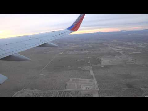 Southwest Airlines Boeing 737-300: Takeoff El Paso, TX to Dallas Love Field, TX RWY 8R