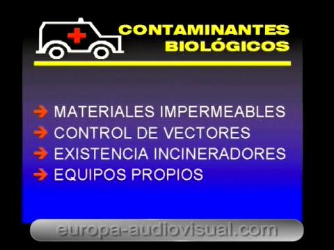Planificación y control seguridad laboral. [14]. Contaminantes biológicos.