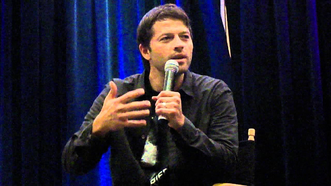 Misha Collins Kids Misha Collins on What His Son