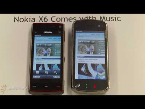 Nokia X6 - selaimen nopeus