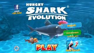 great white shark ate the moon (hungry sharks evolution)