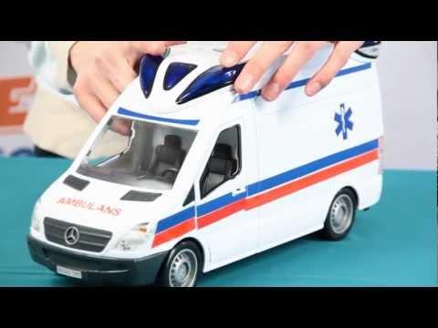 Demo Ambulance Ambulans Rescue Team Zespół Ratowniczy Dickie Toys www.MegaDyskont.pl