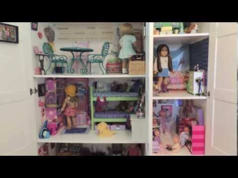 Huge American Girl Doll House Tour Youtube