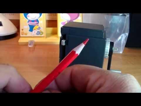Как сделать точилку своими руками для карандашей