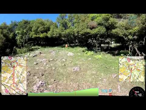 Odem Forest National Orienteering Event H21A HeadCam