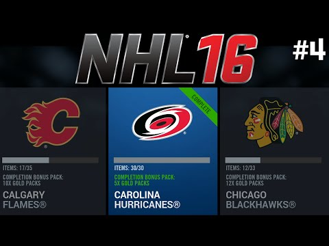 NHL 16 HUT - COLLECTION COMPLETER Ep.4 - Carolina Hurricanes