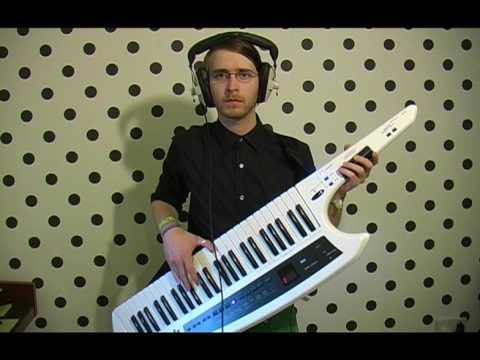 Michael Jackson Medley - Brett Domino - AX Synth Keytar