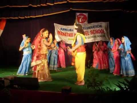 Radha Kaise Na Jale from Lagaan By Mahathii Mmodel School Children...
