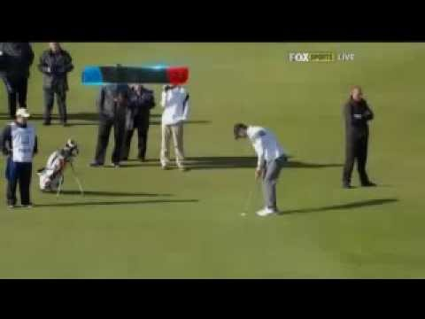 Michael Phelps Holes 153 foot PUTT at Dunhill Links