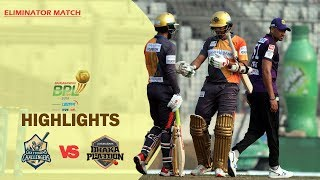 Chattogram Challengers vs Dhaka Platoon Highlights | Eliminator Match | Season 7 | BBPL 2019-20