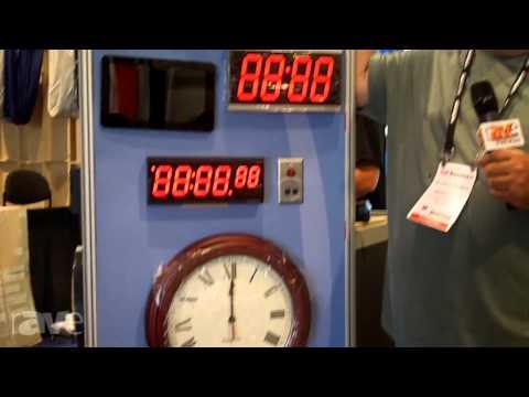 InfoComm 2014: Pyramid Time Systems Displays Synchronized Time Clocks