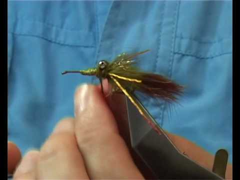 Tying the Buechler Crayfish by Davie McPhail.