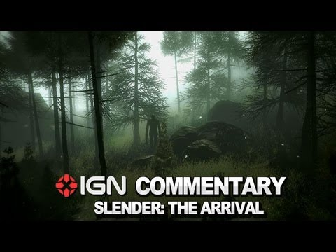 IGN Plays Slender: The Arrival Beta - He's Chasing Us!