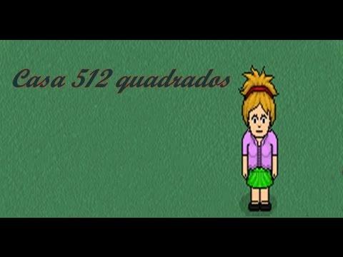 Ideias Habbo:Casa 512 quadrados