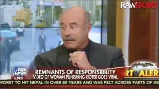Dr. Phil talks to Fox News about the Baltimore riots