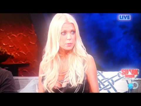 Dumb Blonde Tara Reid Shark After Dark-Shark Week