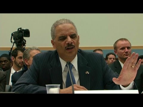 Holder calls Rep. Issa 'shameful'