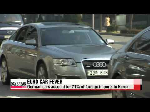 European auto imports eating into sales of Korean auto giants   유럽차 국내 수입, 한국차 수