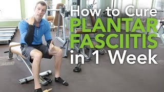 treatment of plantar fasciitis