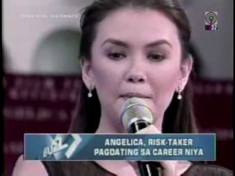 "The Buzz with lovely Ms. Angelica Panganiban ""Risktaker"""