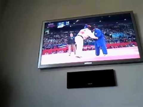 Juegos Olímpicos de 2012 las mujeres de judo de Cuba frente a Japón