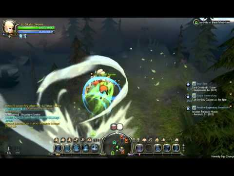 Dragon Nest Sea~WindWalker Showtime Combo~