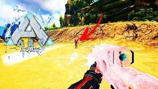ARK Atlantis EP23  - Tretas! Matamos 2 Alphas e Encontramos Um NPC!