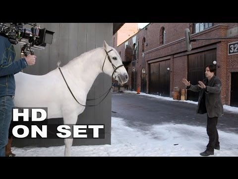 Winter's Tale: Behind The Scenes (Broll) Part 1 Of 2 - Colin Farrell, Jessica Brown Findlay