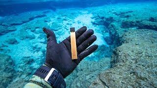 I Found RARE Golden JUUL Underwater In River!!! (scuba diving)   Jiggin' With Jordan