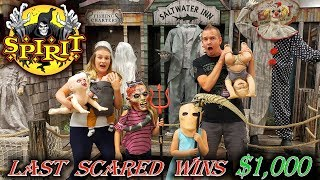 Try Not to Get Scared Challenge! Last To Get Scared Wins $1000!!!