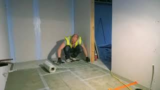 How to Lay Electric Underfloor Heating Mats from Snug Underfloor Heating