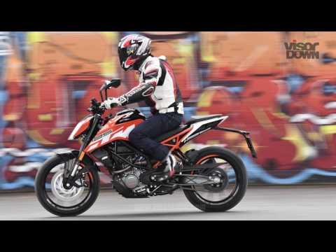 KTM 390 Duke and 125 Duke Review First Ride   Visordown Motorcycle Reviews